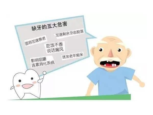 牙齿脱落的罪魁祸首原来是牙周病引起的!各位警惕起来!